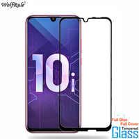 2Pcs For Glass Huawei Honor 10i Screen Protector Full Glue Cover Tempered Glass For Huawei Honor 10i Glass Honor 20i Phone Film