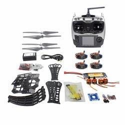 DIY Full Kit  RC Drone Quadrocopter RTF X4M360L Frame Kit QQ Super Radiolink AT9S Transmitter Receiver F14892-H