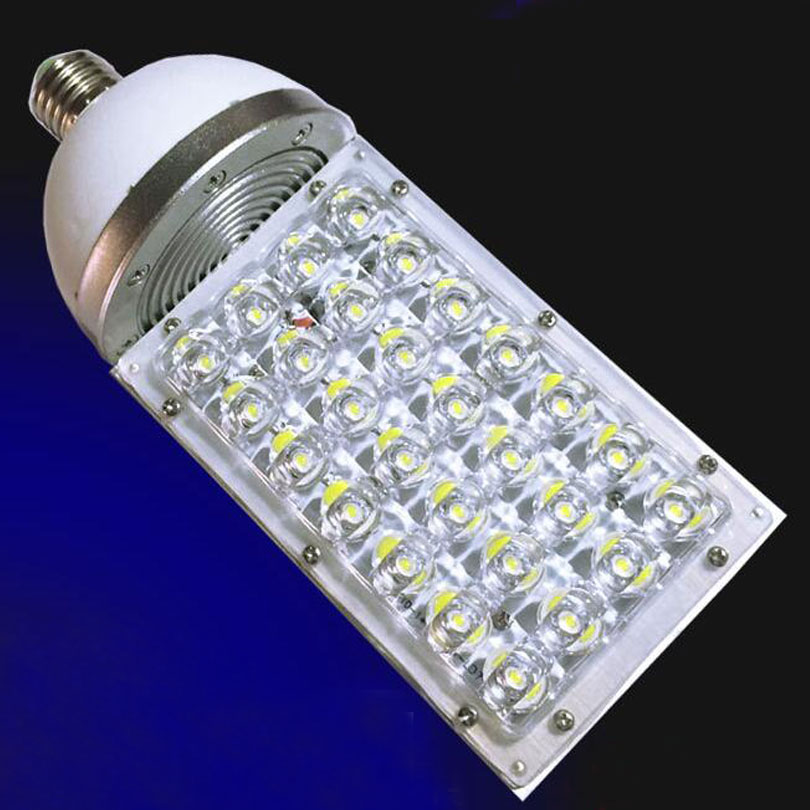 E40 28W LED Corn Lights Street Light Road Bulb garden lamp outdoor 85-256V high power CE & RoHS x 20PCS стоимость