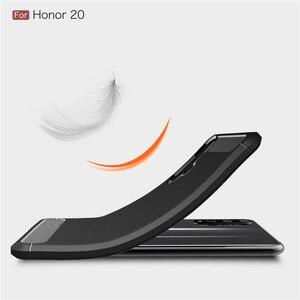 Image 4 - Dành cho Huawei Honor 20 Ốp Lưng Áo Giáp Bảo Vệ TPU Mềm Dẻo Silicone Ốp Lưng Điện thoại Huawei Honor 20 trong Cho Danh Dự 20