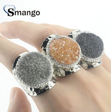 5 Pieces,Women Fashion Jewelry,The Irregular Rhinestones Rings,Top Quality Plating Ring.Women Ring,3colors