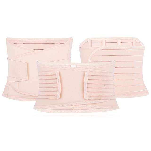 3pcs Maternity Postnatal Belt Belly Band Slimming Shapers Underwear Woman Postpartum Recovery Belt New Maternity Body Form Fit