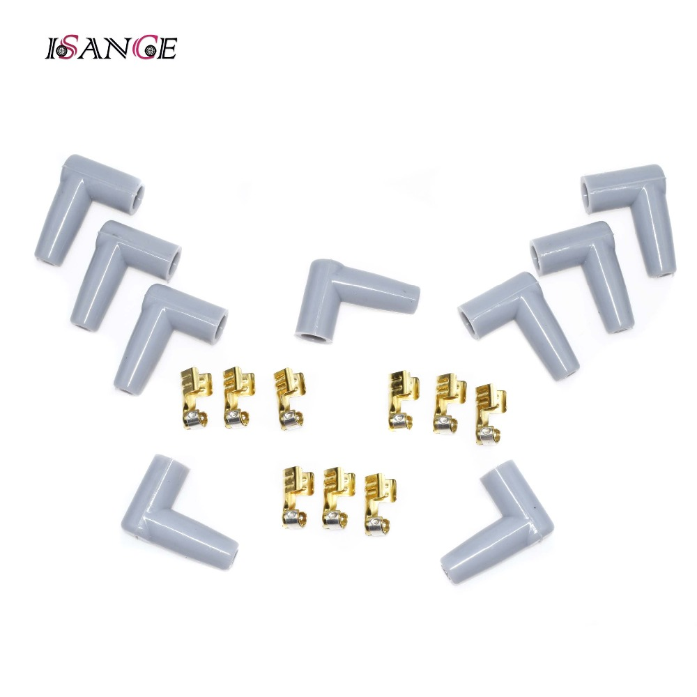 ISANCE Ignition (HEI) Distributor End Spark Plug Wire Terminals ...