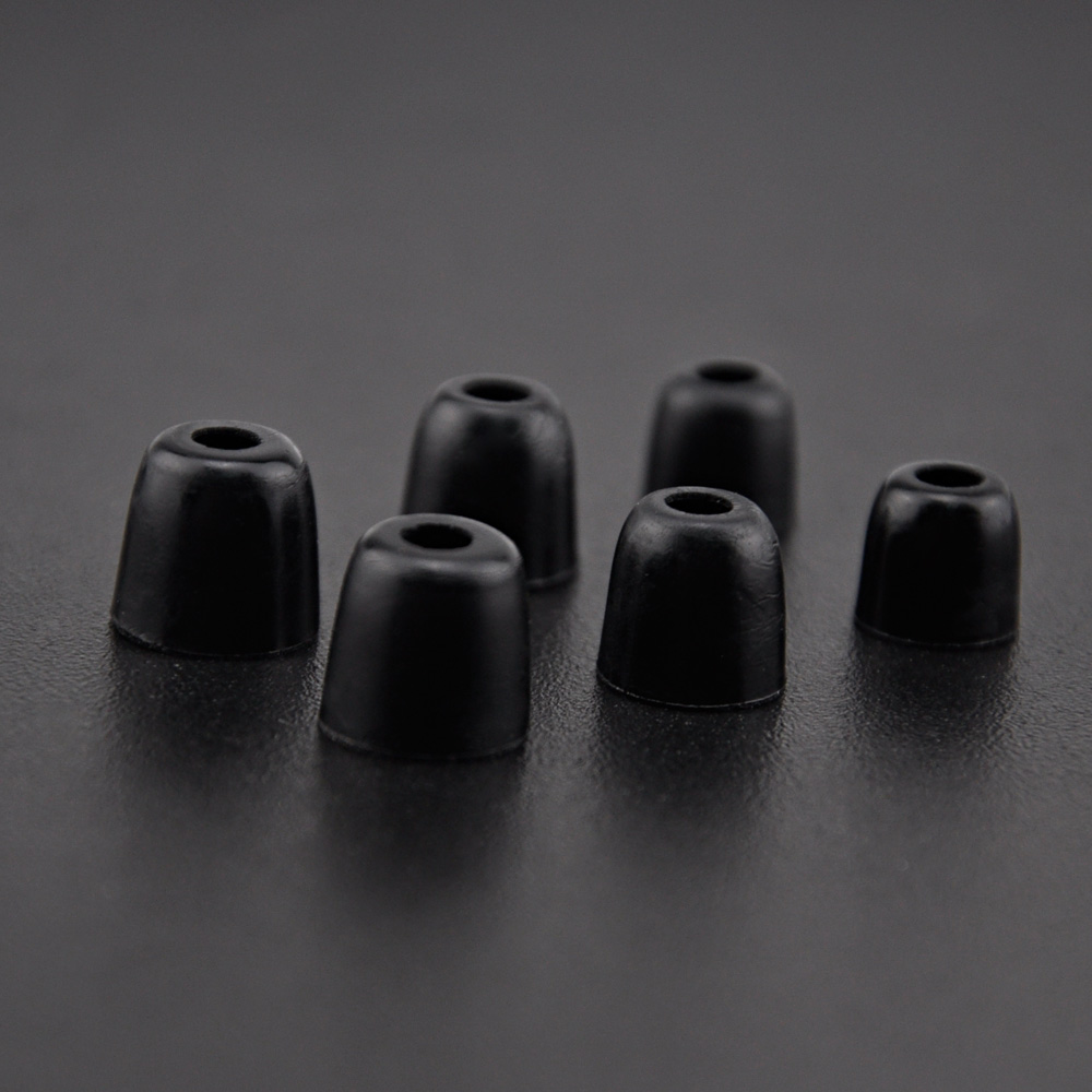 3 Pairs (6Pcs) KZ Original Noise Isolating Comfortble Memory Foam Ear Tips Small Middle Big Size For KZ Headphones