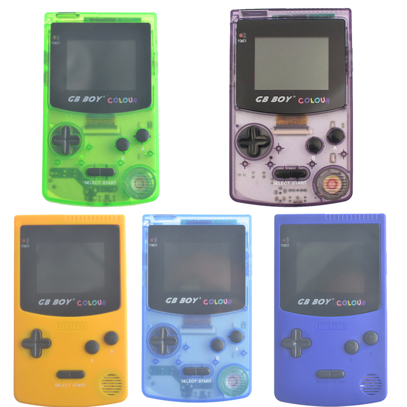 Kong Feng GB Boy Classic Color Colour Handheld Game Consoles 2.7 Hand Held Game Player W ...