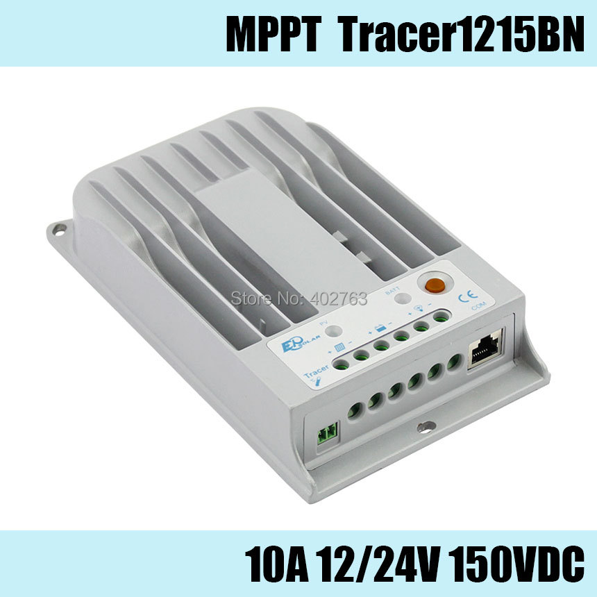 Tracer1215BN MPPT 10A 150V solar charge controller design for home system, outdoor lighting, signals, RVs and boats epsolar tracer mppt 20a 2215bn solar charge controller solar tracker controller for renewable energy system
