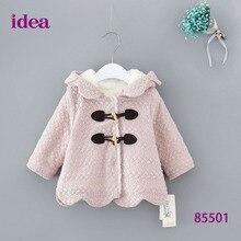 Baby girl clothes winter hoodies coat  vestidos kids vestido infantil hoodie ropa bebek de mujer girls