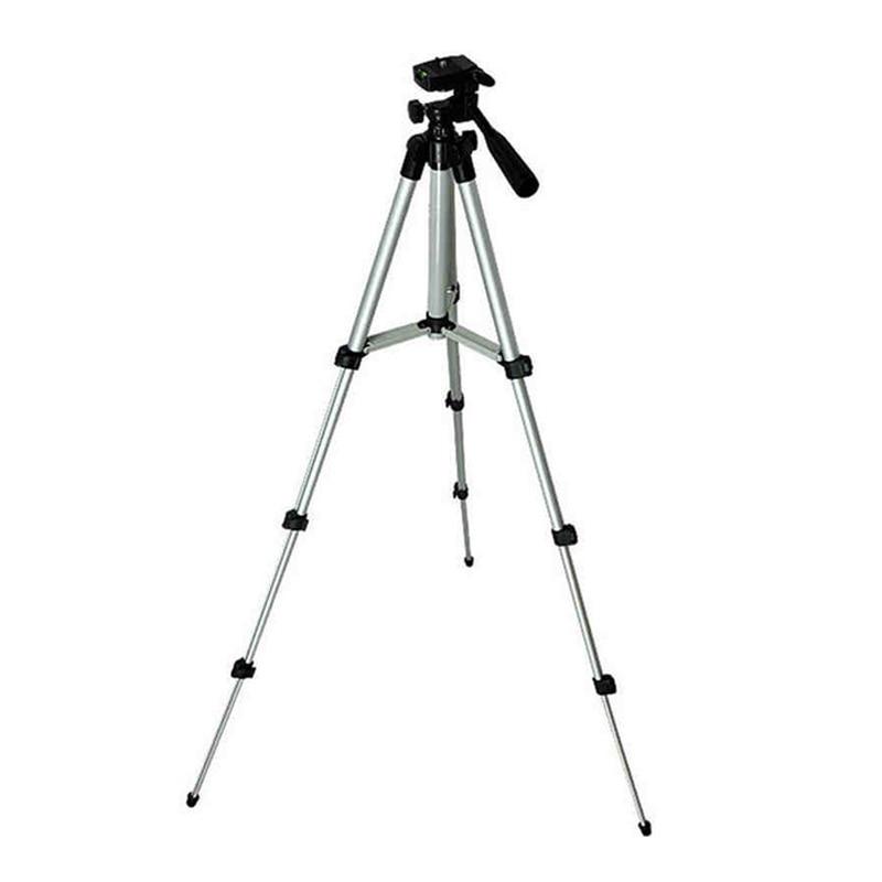 Hot Deal Lightweight Aluminum Mini Tripod 4 Sections Universal Camera Stand Photo