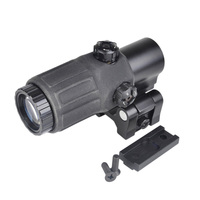 ET Style G33 3x Magnifier Rifle Scope Sight With STS Mount Riflescope For Airsoft