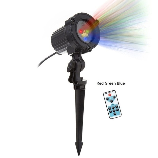 New Price Christmas Laser Light party Star Projector Outdoor Garden Decoration Waterproof IP65 Red Green Blue Showers Lawn Static For Xmas