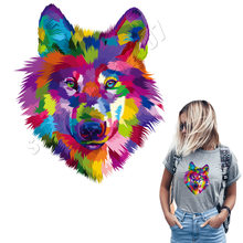 ColorBlock Patches Op T-Shirts Ijzer Op Denim Wasbaar Fashion Stickers Wasbare DIY Applique Custom Accessoire Populaire Parches(China)