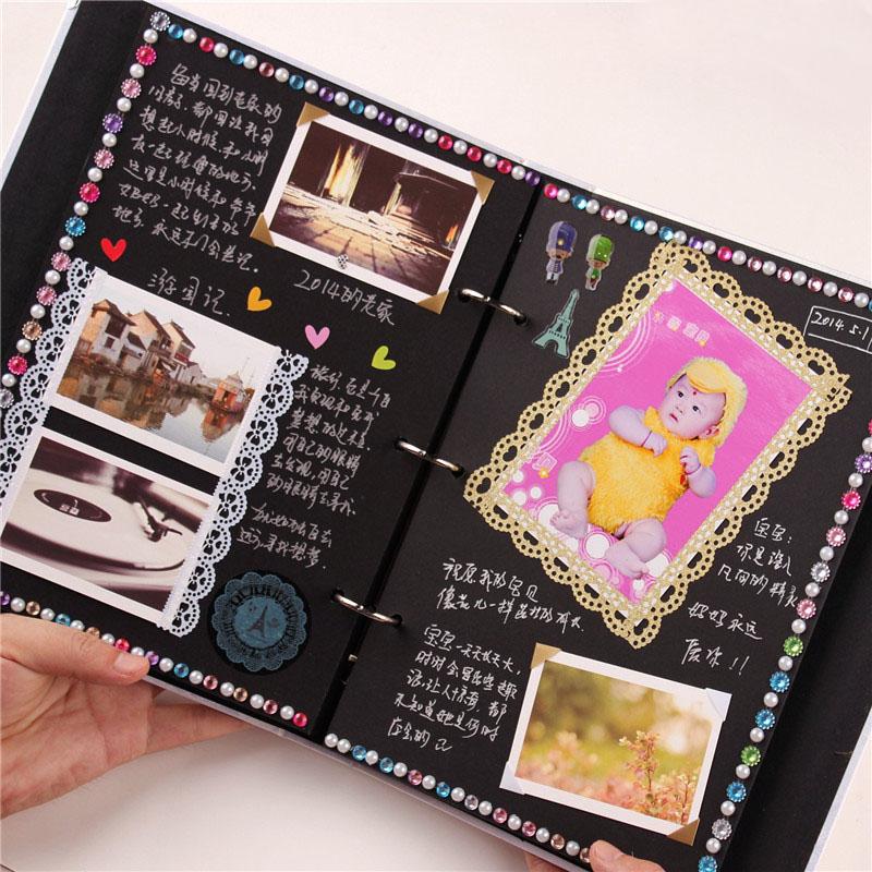 spesso Instax Mini 10 Inch Diy Photo Album Handmade Gift Wedding Photo  HA51