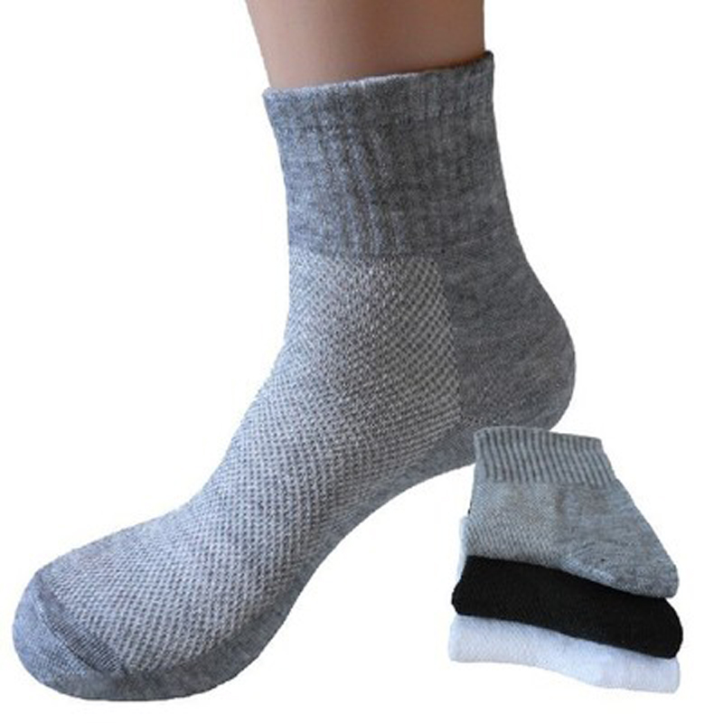5pair 2017 Mens Business Pure Color Socks For Man Brand Autumn Men Socks Male Casual Ankle Socks Meias Calcetines Homens