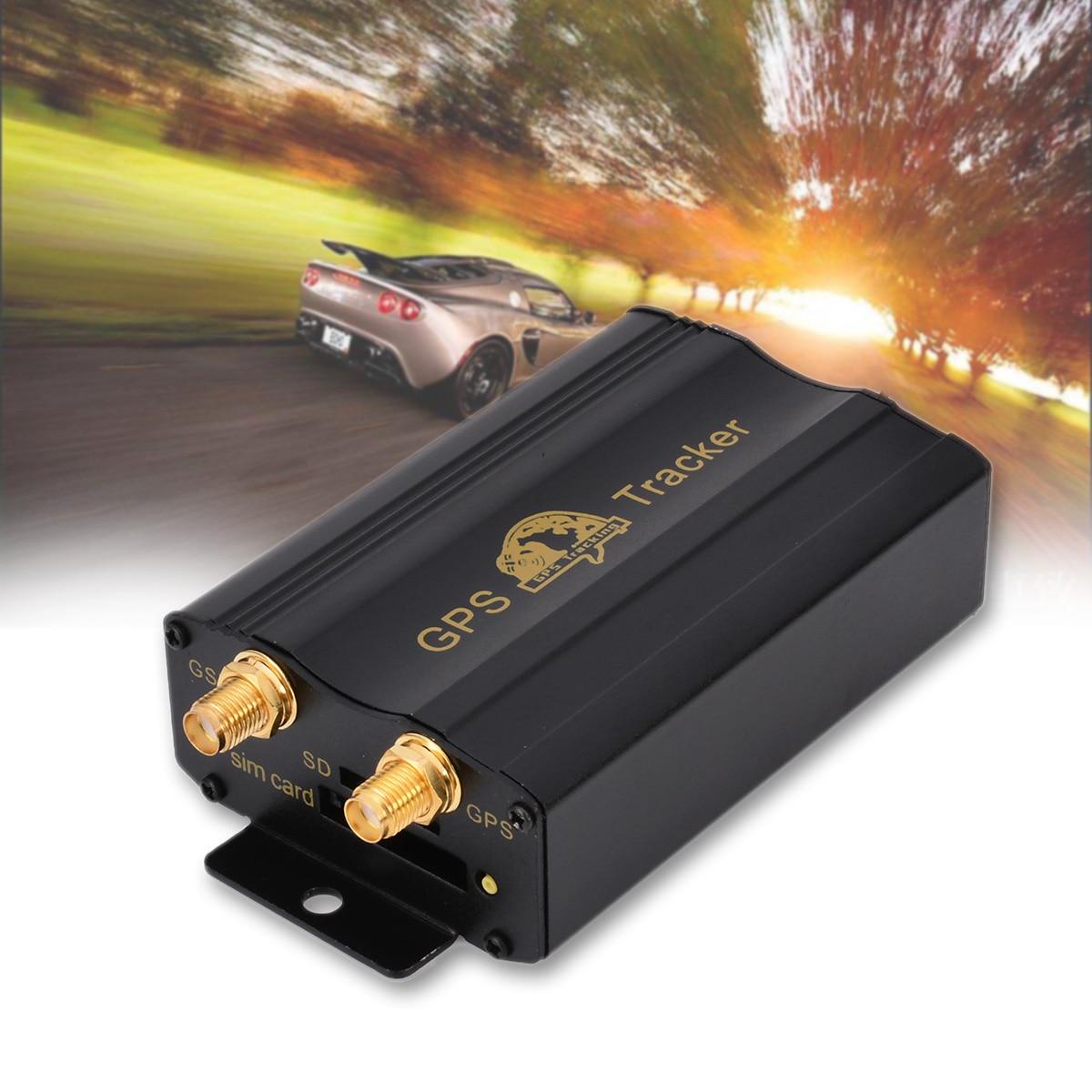 Système de localisation de traqueur de voiture de camion de véhicule de haute qualité TK103B GPS/GSM/GPRS avec des accessoires de cambrioleur de voiture de Kit de télécommande