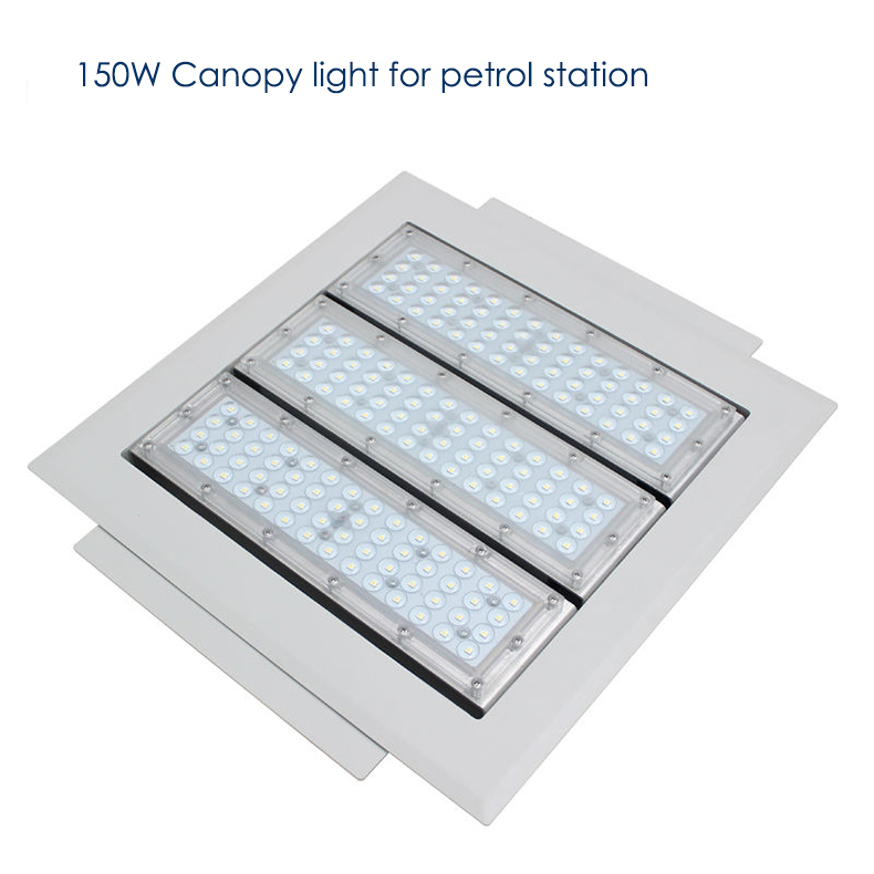 150w Led Canopy Light For Petrol Station Waterproof Ip65