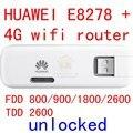 Desbloqueado huawei e8278 e8278s-602 4g lte modem + router inalámbrico 4g 3g Wifi mifi router Módem 4g 3g Dongle USB E3276 pk e8372