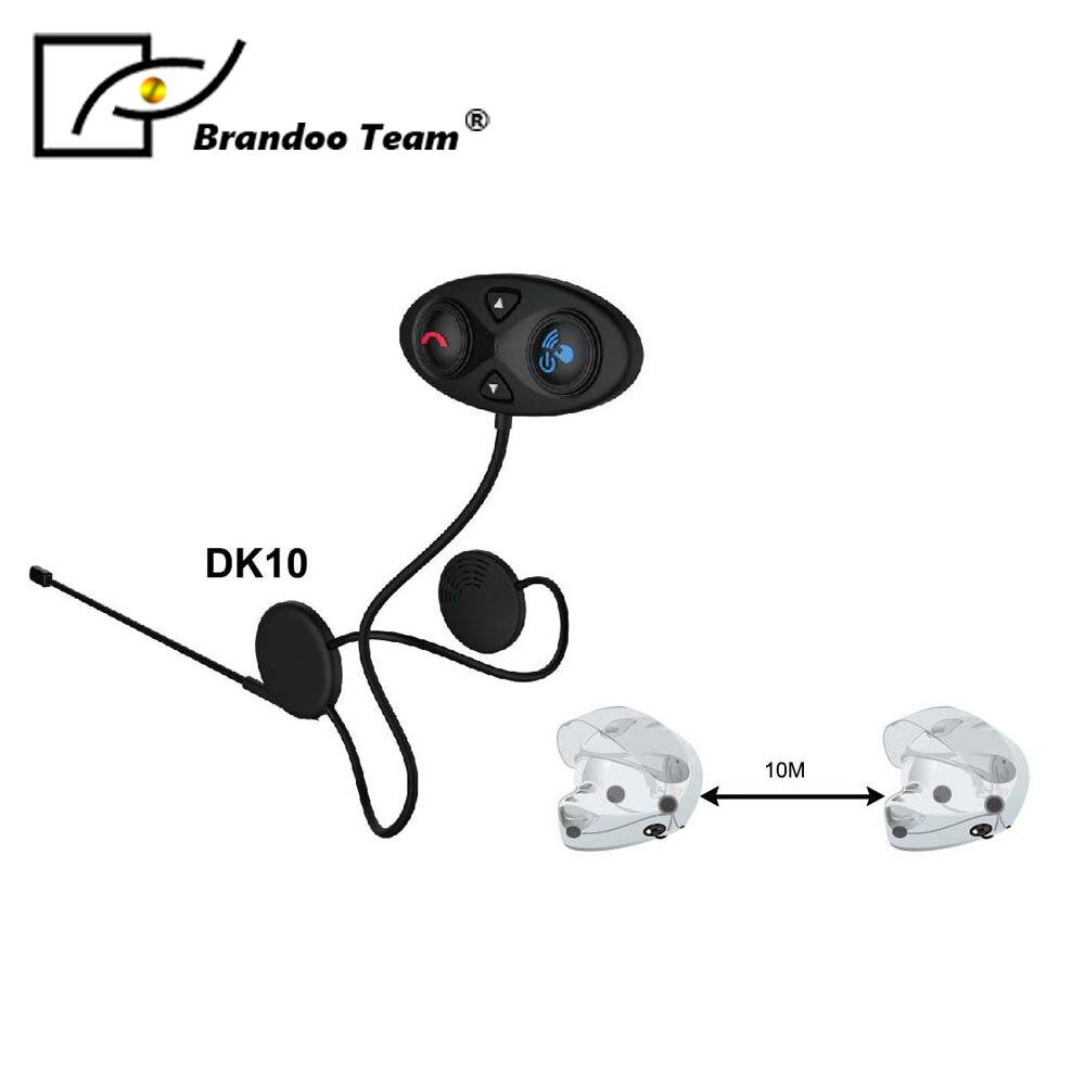 Moteur sans fil Bluetooth casque moto casque écouteur casque haut-parleur mains libres musique