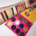 12 Colors J'S Place Nubian 2 Yellow Eye Shadow Palette  New Luminous Shimmer Eyeshadow  Smoky Yellow Eye Shadow Palette