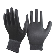 12 Pairs Nylon PU Coated Safety Gloves For Driver, General assembly workers and Protective Working - FREE SHIPPING