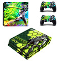 For Overwatch PS4 Pro Skin Sticker Decal For Sony PS4 PlayStation 4 Pro Console and 2 Controllers Stickers