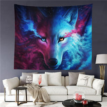 Wolf Tapestry Colorful Wall Hangings Tapestries Wall Decor Blanket 51 x 59 inch