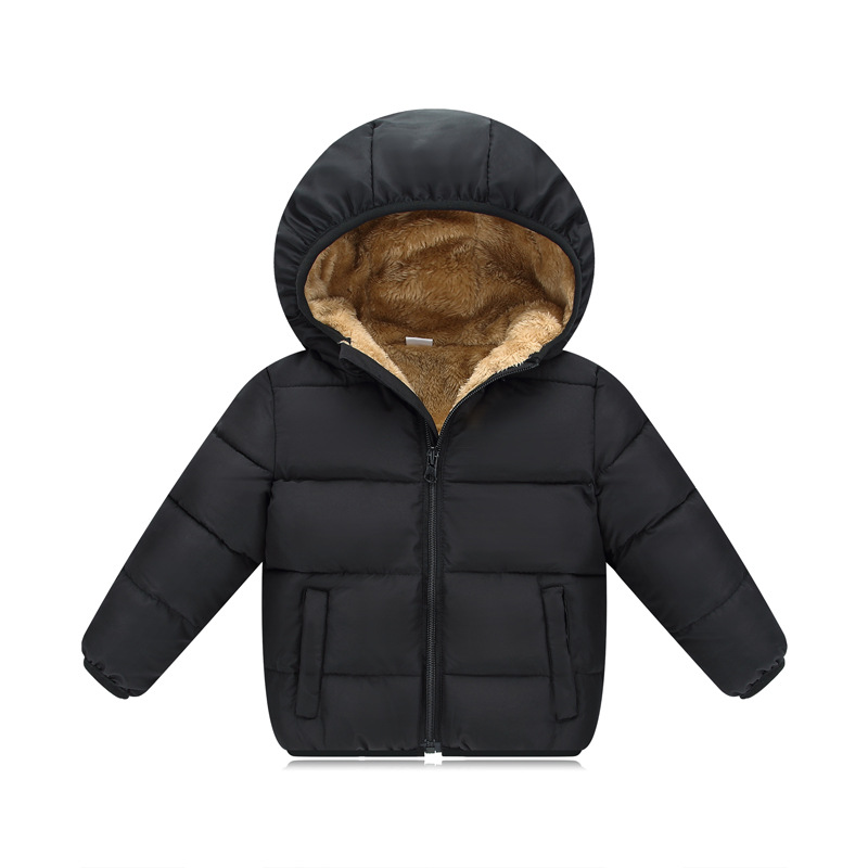 Baby Girls Boys Winter Jackets Children's Outerwear & Coats Kids Clothing Down Coat Hooded Clothes  Warm Jacket For Girl JSB1007 girls down coats girl winter collar hooded outerwear coat children down jackets childrens thickening jacket cold winter 3 13y