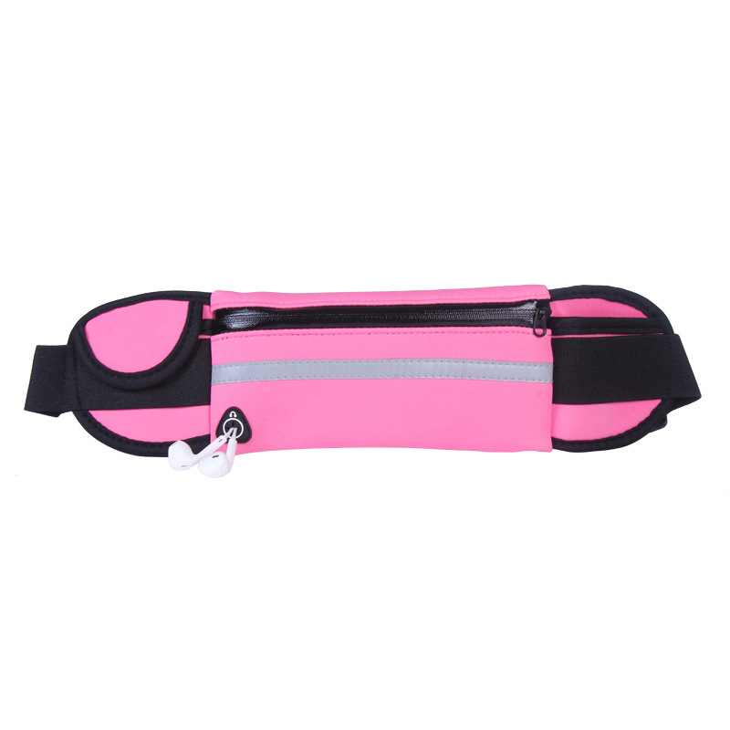 Hot Outdoor Running Waist Bags Men Women waist Packs Bags Unisex Sport Nylon Waistband for accessory men Small Travel Belt Bag 13