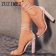 Zapatos Zuzimei De Promoción Tacón Compra Alto RqwS1