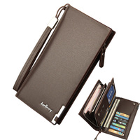 2017 NEW Luxury Brand Men Wallets Long Men Purse Wallet Male Clutch PU Leather Wallet Men