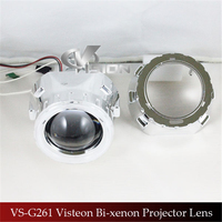 Free Shipping IPHCAR Car Motorcycle Styling LHD RHD Light Source 2 5 HID Bixenon Projector Lens