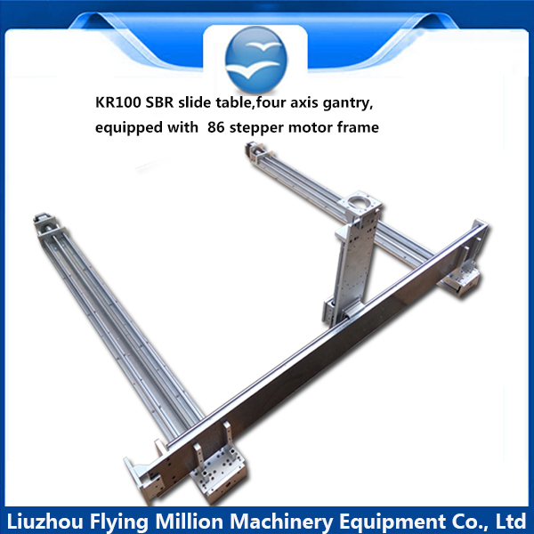 KR100 high-precision mechanical arm Combination of gantry frame stage linear silde table  module beijing machine tool lxz1 03x w lxz1 03x n combination of high precision travel switch