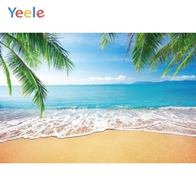 Yeele Seascape Summer Photocall Waves Beach Cool Photography Backdrops Personalized Photographic Backgrounds For Photo Studio