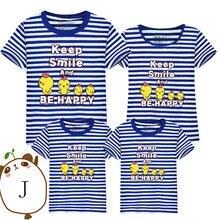 Parent-child T-shirts Lovely Cartoon Chicken Shirt Lovers Family T-shirt Women Summer Cotton Casual Tops Kid clothes 11LD10388