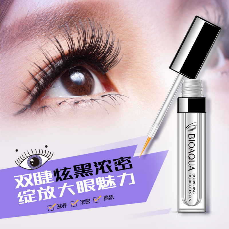 BIOAQUA  Hair Growth Serum For Eyelash Growth Lifting Eyelashes Thick Eyebrow Growth Enhancer Eye Lashes Serum Mascara
