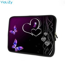 heart print tablet cover mini laptop Protective skin 7.9 notebook sleeve bag 7 tablet protective case for mipad 2 TB-3214 new design tablet laptop cover for lenovo 12 2 miix 510 miix5 sleeve case pu leather skin protective for miix510 stylus