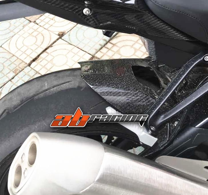 2014-2018 S1000R Rear Chain Mud Guard Cover Panel Cowl Fairing Carbon Fiber Red