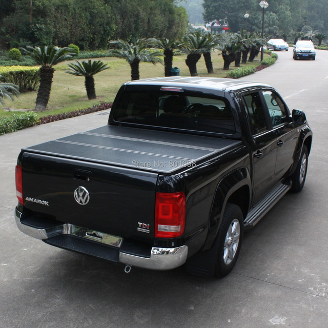 vw amarok harte trifold abdeckung toyota pickup hard cover toyota trifold persenning pick up. Black Bedroom Furniture Sets. Home Design Ideas