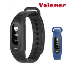 Newest B15P Men Women Smart Bracelet Blood Pressure Heart Rate Sleep Monitor Call Reminder Stopwatch Calorie Alarm Touch Watches