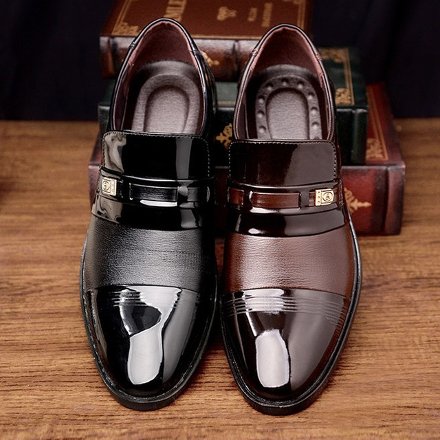 Formal Leather Shoes - Plush Plus 5