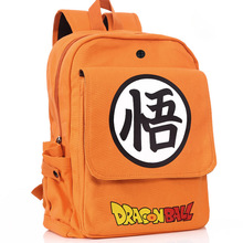 Dragonball Z Orange Canvas Shoulder Bag