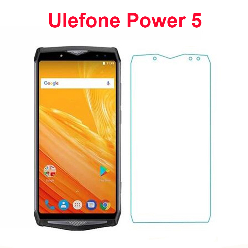 2PCS Tempered Glass For Ulefone Power 5 Explosion-proof Protective Screen Protector LCD Front Film For Ulefone Power 5 6.0 Glass