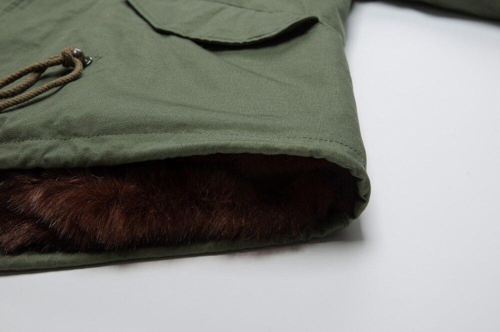 Настоящий человек из натурального кроличьего меха короткая с мехом енота зимняя меховая куртка Восточный мех
