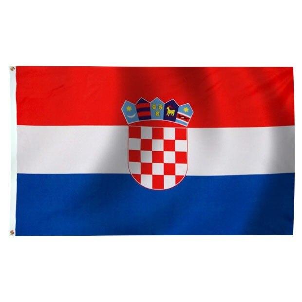 Johnin Hr Hrv Hrvatska Croatia Flag For Decoration