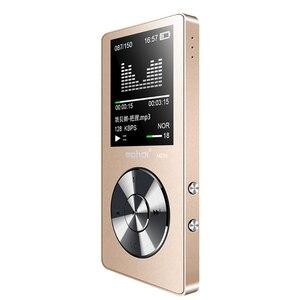 """Image 5 - Nieuwe Metal 1.8 """"Scherm Muziekspeler Draagbare Digitale Audio Speler Originele Merk Speler MP3 met FM Radio Voice Recorder"""