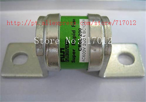 ФОТО Free Shipping CR6L-200  Fuse:200A-600V,Used No New(Old components,Good quality) Can directly buy or contact the seller