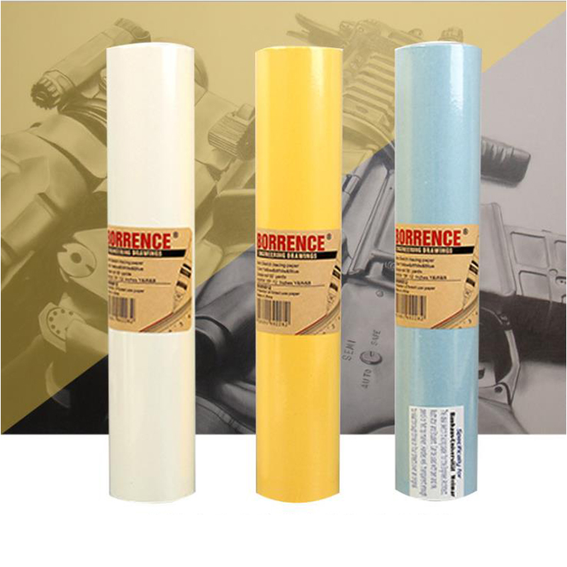 MyLifeUNIT Translucent Sketch Tracing Paper Roll Design Drawing Hand Painted Paper Mapping Litmus Paper For Multiple Types Pens
