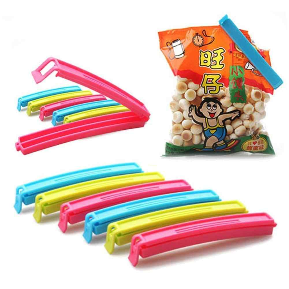 Clip Kitchen Storage Food Snack Seal Sealing Bag Clips Sealer Clamp Plastic Tool Color Random