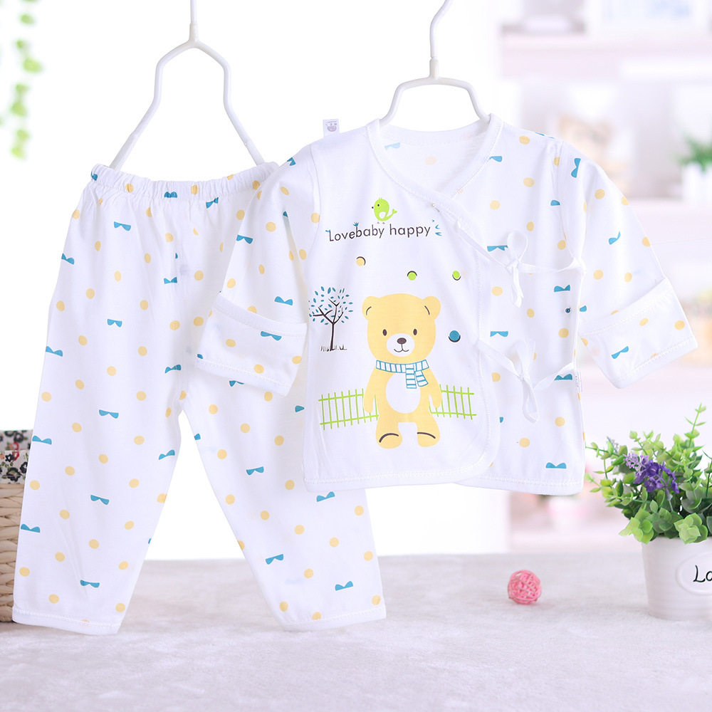 2017 summer Newborn baby fashion style baby boy clothes set, baby girl clothes soft and comfortable T-shirt + pants 2pcs sets
