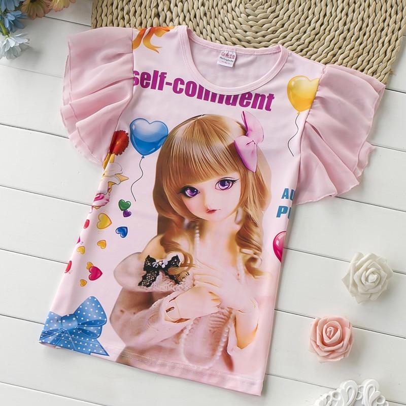 Kids t shirt kids clothes summer t shirt princess printing for Toddler t shirt printing