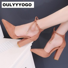 Spring   Summer Female Pumps Women s Shoes Korean Style High Heels(10.5cm)  Pointed 59febc9a0177